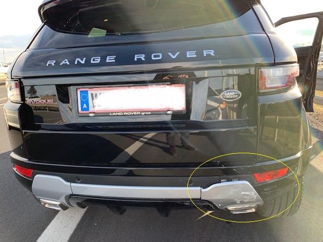Land Rover Range Rover Evoque SE Dynamic Heckschaden